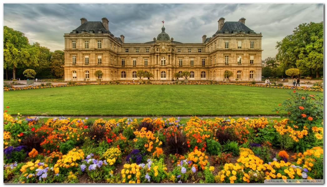 Gardens In Paris Wallpaper 1920x1080 Gardens In Paris 1920x1080