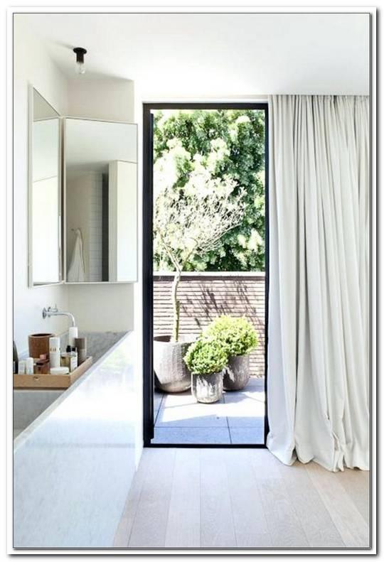 Gardinen F?R Bodentiefe Fenster Im Bad