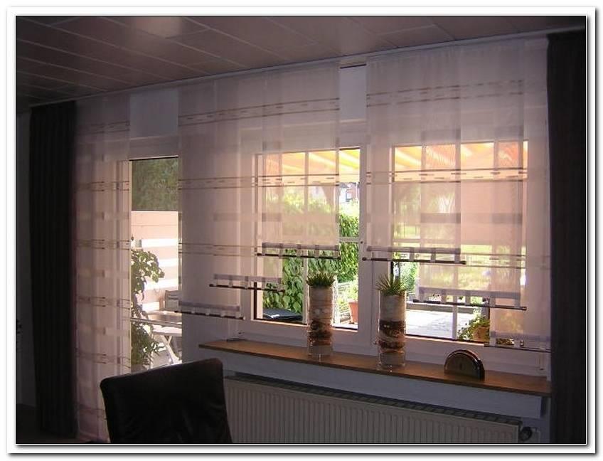 Gardinen Fenster T?R Kombination