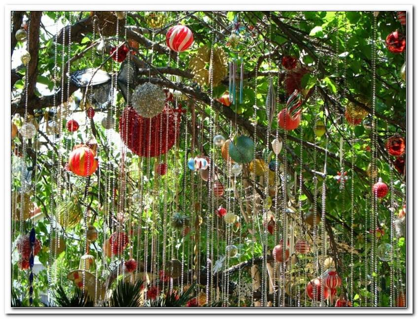 Garten Baum Deko