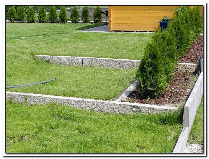 Garten Begrenzungssteine Setzen