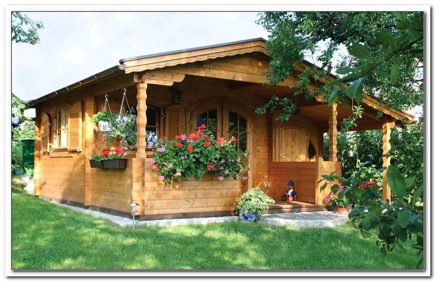 Garten Blockhaus Selber Bauen