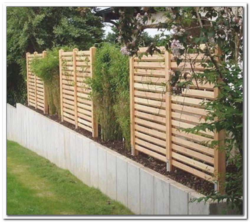 Gartenbegrenzung Holz