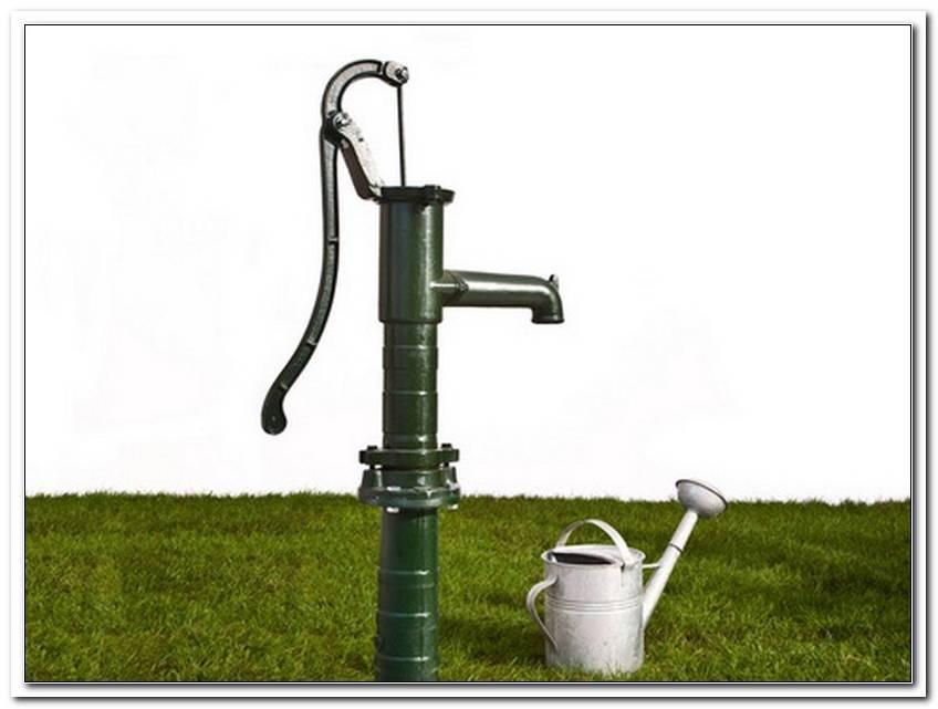 Gartenbrunnen Pumpe