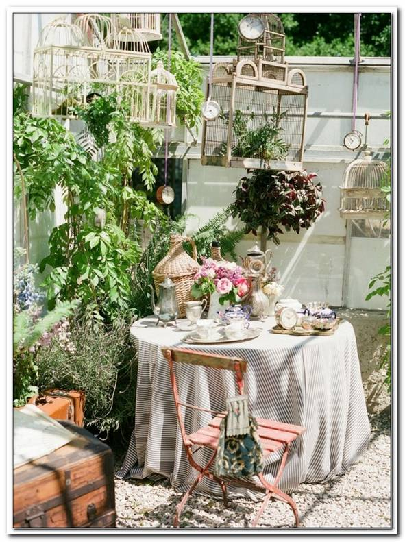 Gartendeko Shabby Style