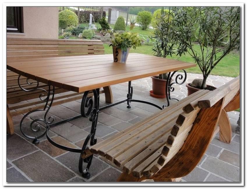 Gartengarnitur Holz