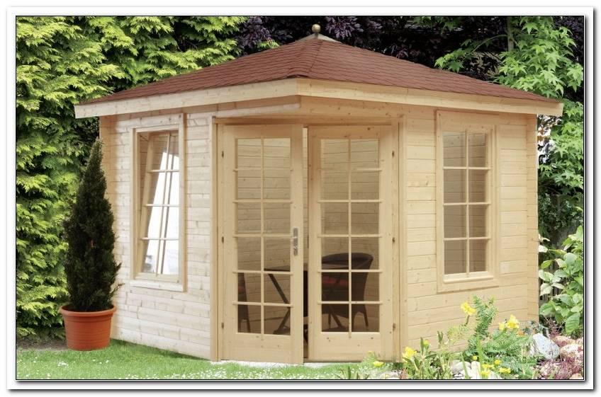 Gartenhaus 5 Eckig Holz