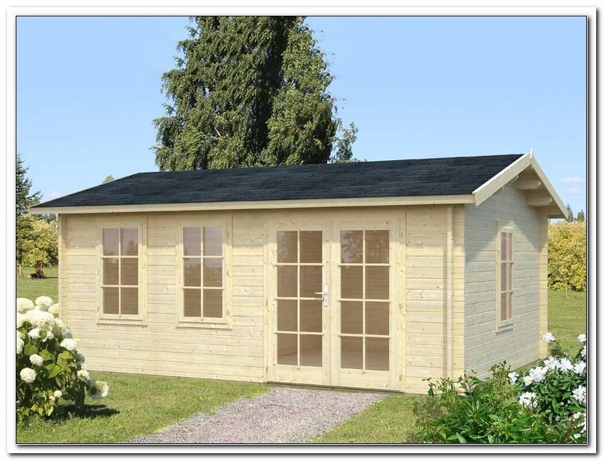 Gartenhaus 5 X 3 M