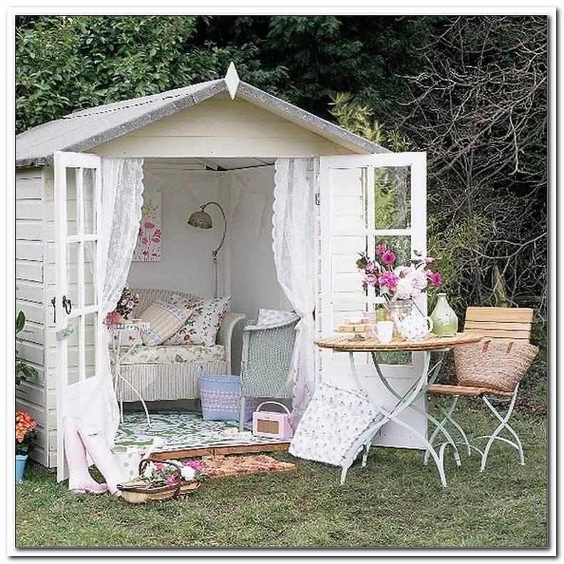 Gartenhaus Shabby Style