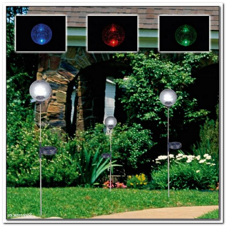 Gartenlampen Solar