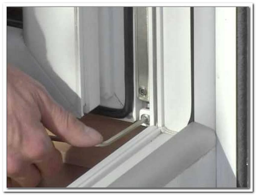 Gealan Fenster Einstellen