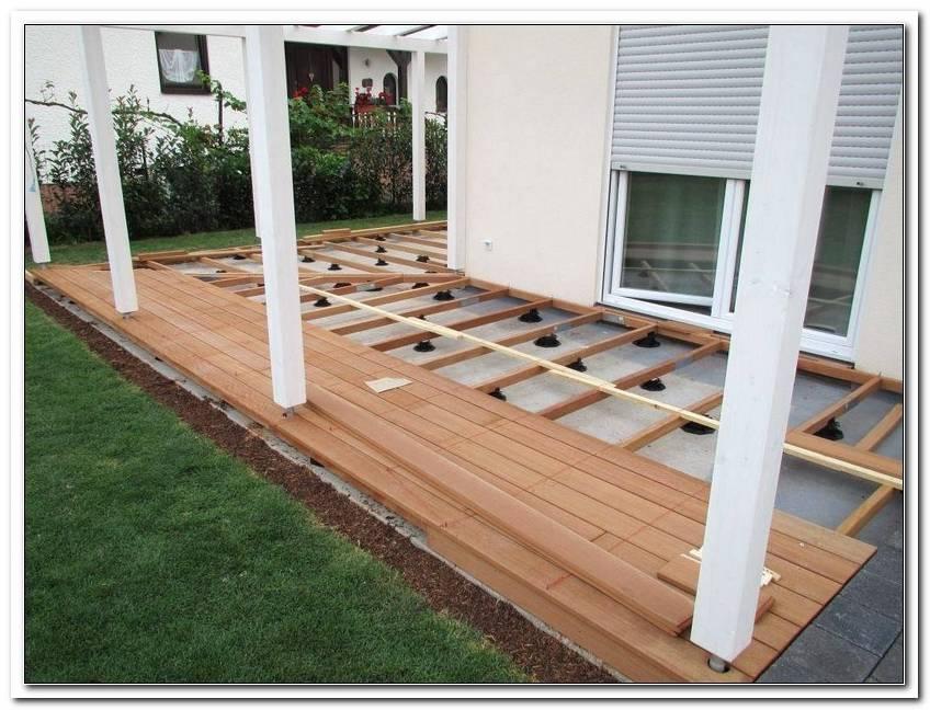 GefLle Terrasse Holz