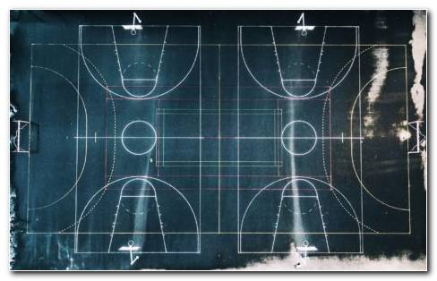 Geometry Of Basketball Court HD Wallpaper