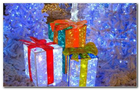 Gift Of Lights HD Wallpaper