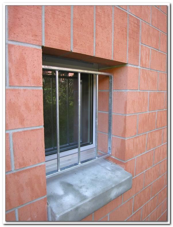 Gitter Vorm Fenster Einbruchschutz