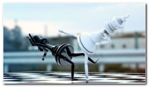Glass Chess Board HD Wallpaper