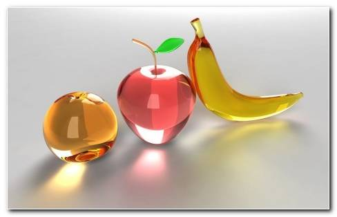 Glass Fruit HD Wallpaper