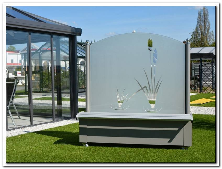 Glastrennwand Garten Preis