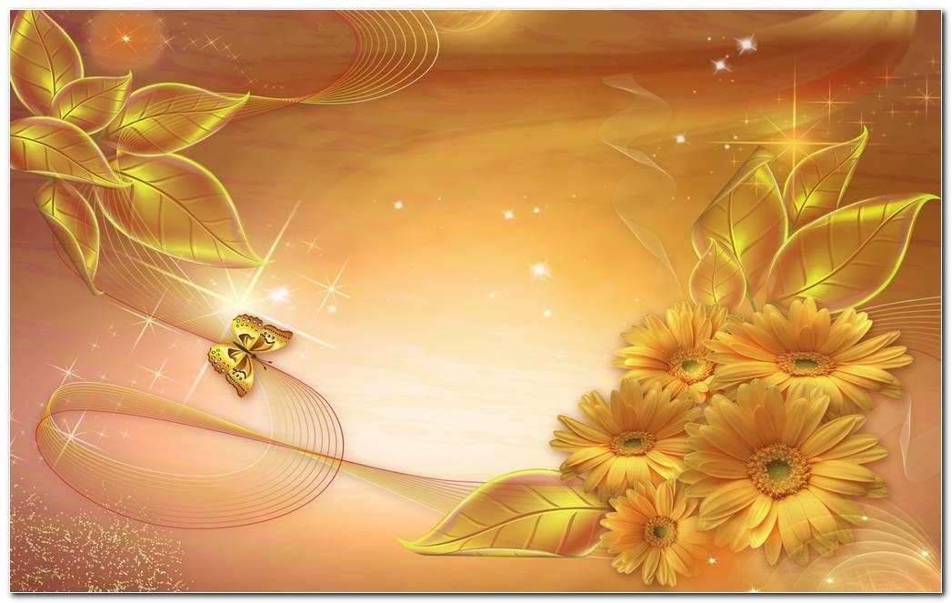 Gold Star Background Wallpaper