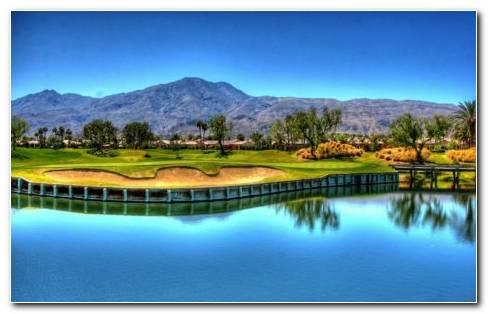 Golf Garden HD Wallpaper