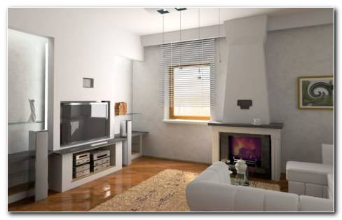Graceful Living Room HD Wallpaper