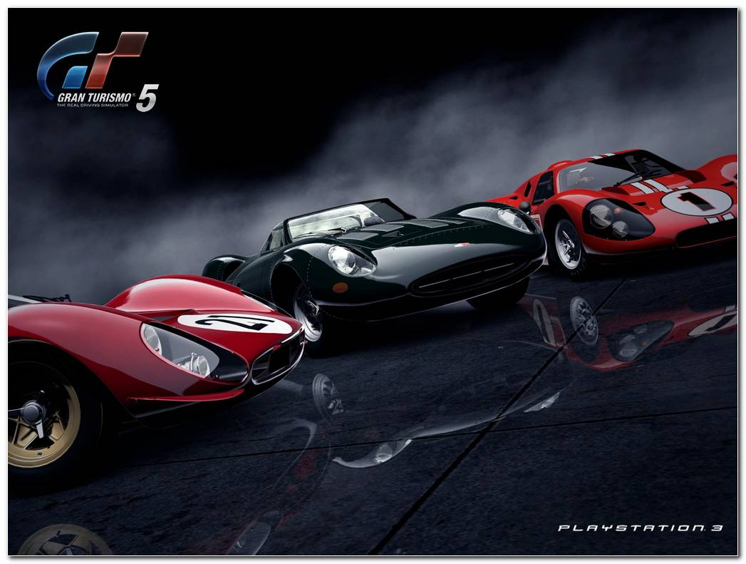 Gran Turismo 5 Background