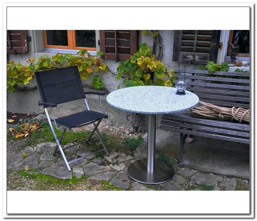 Granittisch Garten Pflege