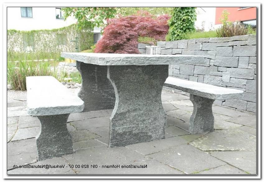 Granittisch Garten Schweiz