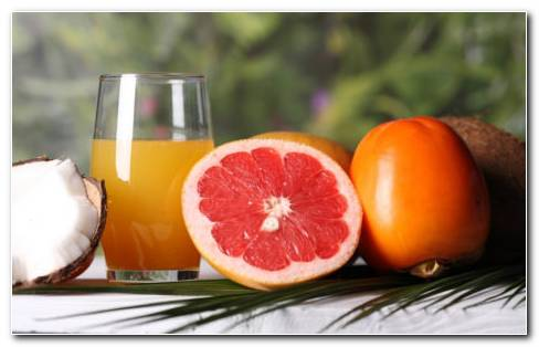 Grapefruit And Orange Juice HD Wallpaper
