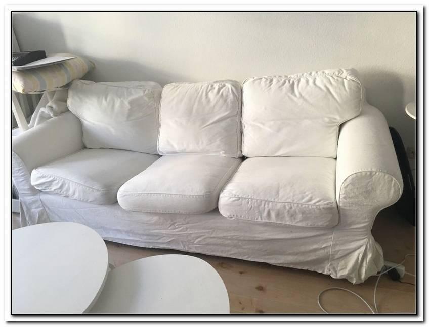 Grau Wei?Es Sofa Gebraucht