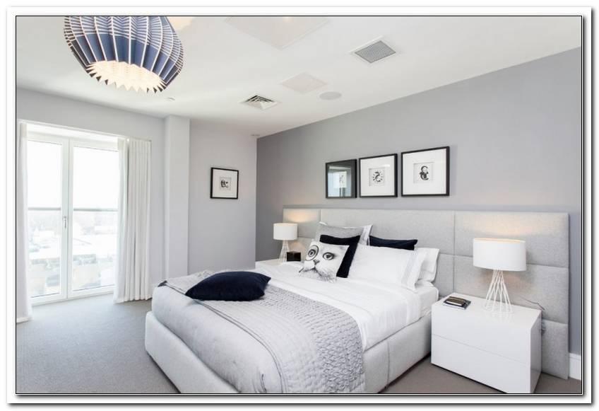 Graue Wand Schlafzimmer