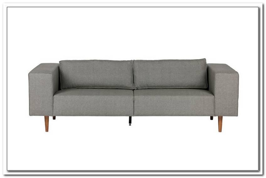 Graues Sofa Mit Holzbeinen