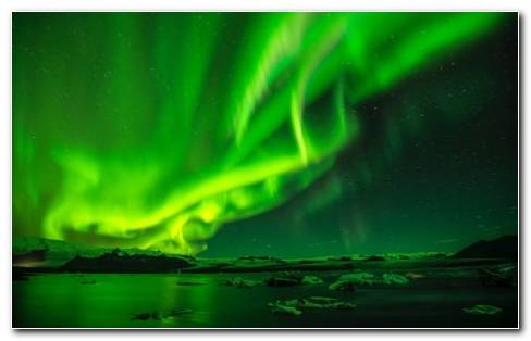 Green Aurora Australis