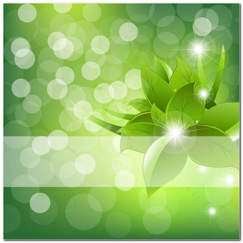 Green Background Wallpaper Abstract Green Flower Background
