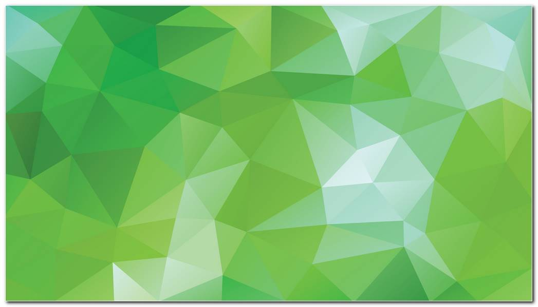 Green Background Wallpaper Green Triangle