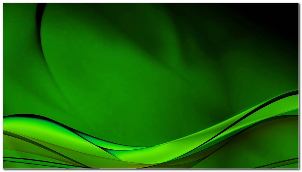 Green Background Wallpaper. Abstract Green Waves Desktop Background