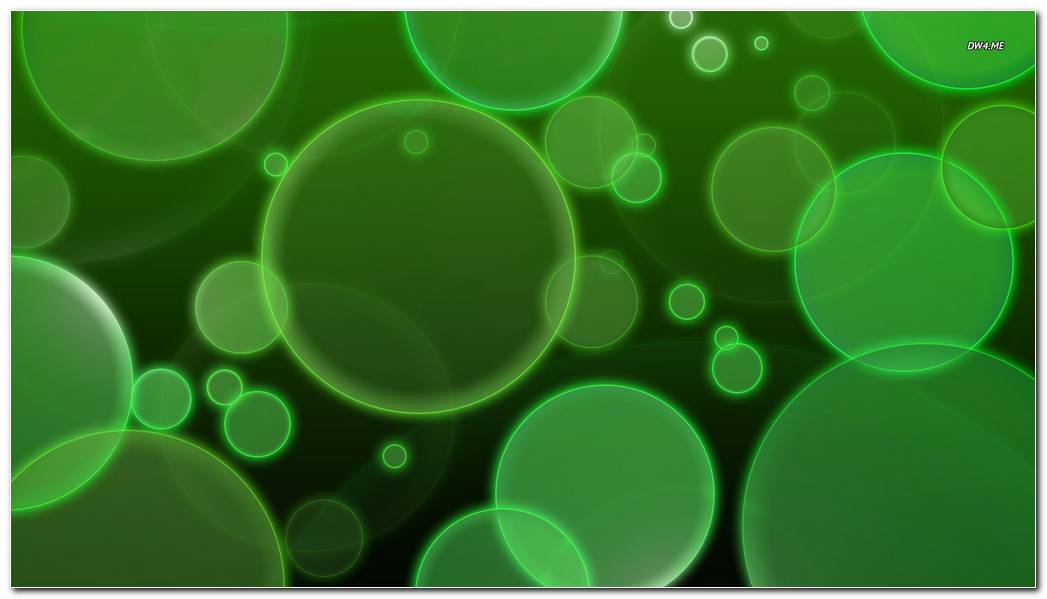 Green Background Wallpaper. Green Bubbles Background