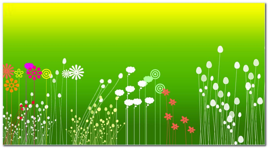 Green Background Wallpaper. Green Flower Garden