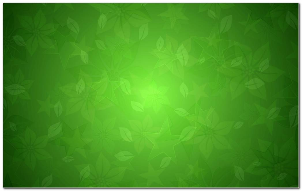 Green Floral Texture Wallpaper