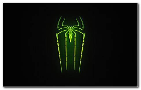 Green Spider Man HD Wallpaper