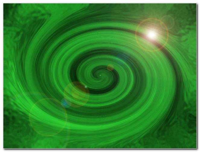 Green Swirl Powerpoint Background