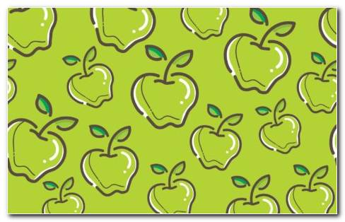 Green Apple HD Wallpaper