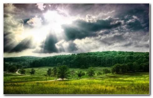 Green Valley HD Wallpaper