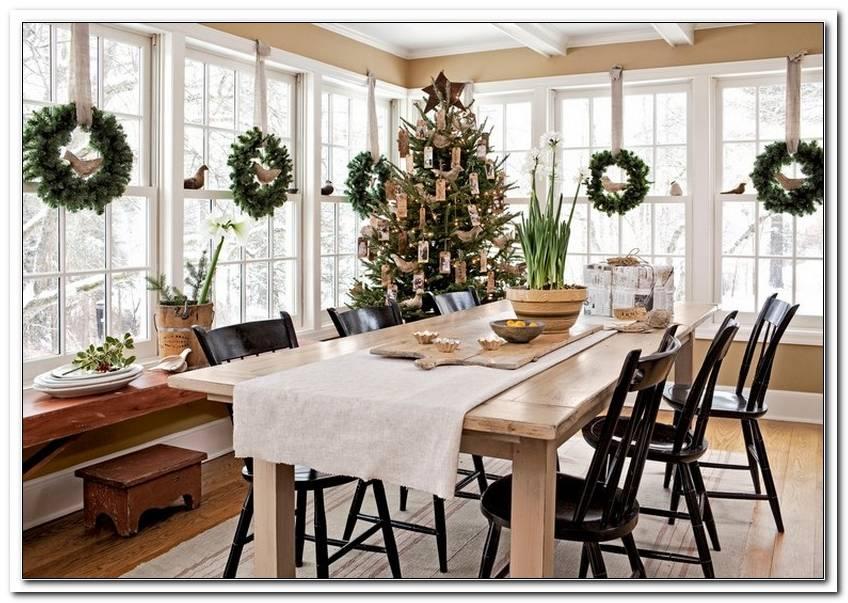 Gro?E Fenster Weihnachtlich Dekorieren
