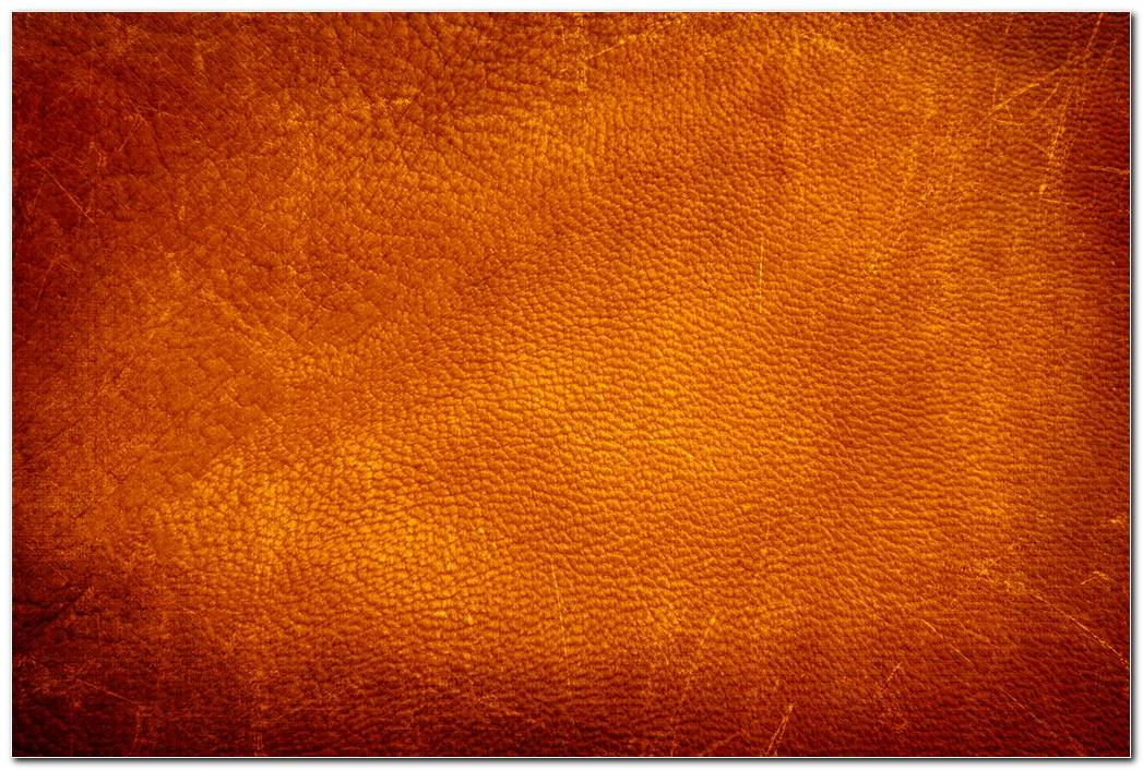Grunge Orange Leather Texture Background Wallpapers