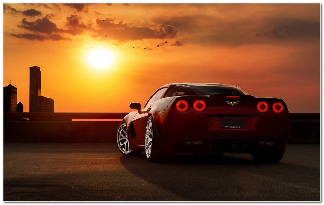 HD Corvette Backgrounds