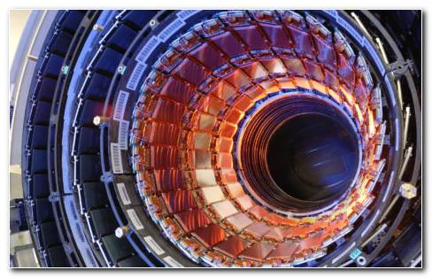 Hadron collider HD wallpaper
