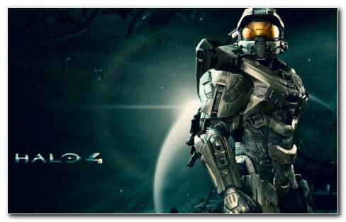 Halo 4 Master Chief Shining HD wallpaper