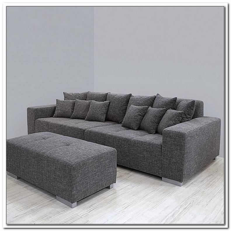 Hardeck Sofa Grau