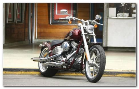 Harley Davidson FXDB Dyna HD Wallpaper
